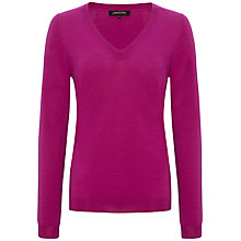 Buy Jaeger Gostwyck V-Neck Jumper Online at johnlewis.com