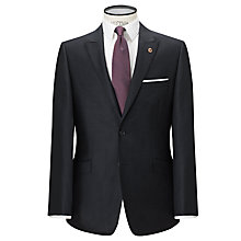 Buy Paul Costelloe Semi Plain Tailored Suit Jacket, Indigo Online at johnlewis.com