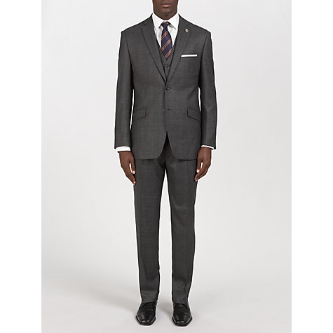 Buy Paul Costelloe Prince of Wales Check Tailored Waistcoat, Grey Online at johnlewis.com