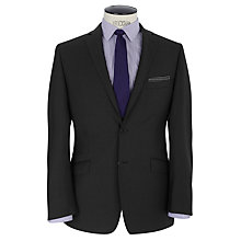 Buy Daniel Hechter Semi Plain Pindot Tailored Suit Jacket, Charcoal Online at johnlewis.com