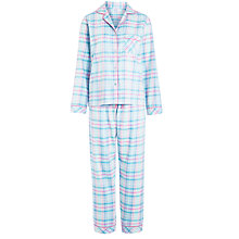Buy John Lewis Check Pyjama Set, Multi Online at johnlewis.com