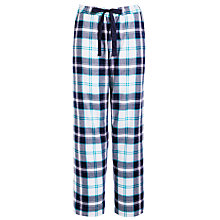 Buy John Lewis Prism Check Pyjama Pants, Navy Multi Online at johnlewis.com
