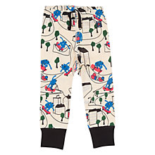 Buy Polarn O. Pyret Cityscape Baby's Leggings, White/Multi Online at johnlewis.com