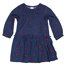 Buy Polarn O. Pyret Baby's Patterned Dress, Blue Online at johnlewis.com
