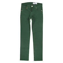 Buy Polarn O. Pyret Slim Denim Jeans, Green Online at johnlewis.com