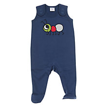 Buy Polarn O. Pyret Ant Motif Romper, Blue Online at johnlewis.com