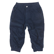 Buy Polarn O. Pyret Baby's Corduroy Trousers, Blue Online at johnlewis.com