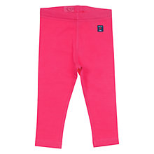 Buy Polarn O. Pyret Baby's High Leggings, Pink Online at johnlewis.com