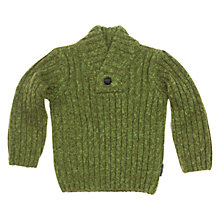 Buy Polarn O. Pyret Marl Knitted Jumper, Green Online at johnlewis.com