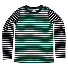 Buy Polarn O. Pyret Children's Autumn Stripe Jersey Online at johnlewis.com