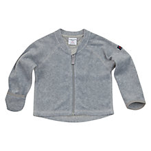 Buy Polarn O. Pyret Fleece Cardigan, Grey Online at johnlewis.com