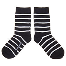 Buy Polarn O. Pyret Children's Stripe Socks Online at johnlewis.com