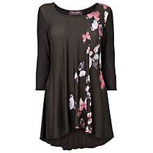 Buy Phase Eight Butterfly Tegan Top, Black/Multi Online at johnlewis.com
