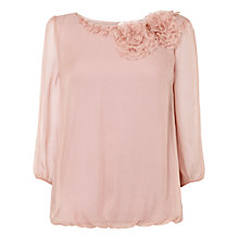 Buy Phase Eight Rose Blouse, Pale Pink Online at johnlewis.com