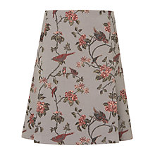 Buy Phase Eight Sorrel Tapestry Bird Skirt, Grey Online at johnlewis.com