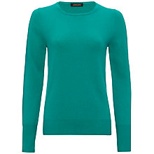 Buy Jaeger Cashmere Crew Neck Sweater Online at johnlewis.com