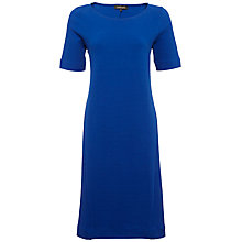 Buy Jaeger Short Sleeve Ottoman Jersey Dress Online at johnlewis.com