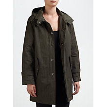 Buy Four Seasons Hooded Caban Jacket, Bottle Online at johnlewis.com