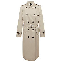 Buy Four Seasons Trench Coat, Natural Online at johnlewis.com
