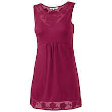 Buy Fat Face Aneria Applique Tunic Dress, Bordeaux Online at johnlewis.com