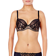 Buy Wacoal Simply Sultry Contour Bra, Black Online at johnlewis.com