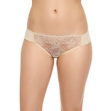 Buy Wacoal Seduction Bikini Briefs, Nude Online at johnlewis.com