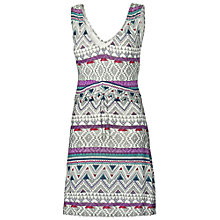 Buy Fat Face Elmbridge Aztec Sketch Tunic, Ivory Online at johnlewis.com