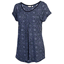 Buy Fat Face Sola Baroque Tile T-Shirt, Navy Online at johnlewis.com