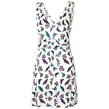 Buy Fat Face Elmbridge Butterfly Tunic, Ivory Online at johnlewis.com