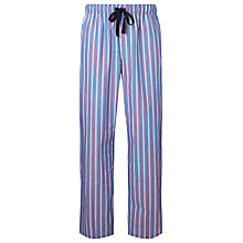 Buy John Lewis Walter Stripe Lounge Pants, Blue/Red Online at johnlewis.com