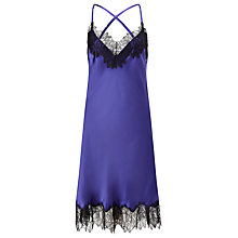 Buy Somerset by Alice Temperley Alice Chemise, Royal Blue Online at johnlewis.com
