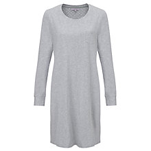Buy John Lewis Carrie Pocket Nightdress, Grey Online at johnlewis.com