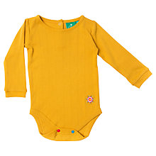 Buy Little Green Radicals Pointelle Bodysuit Online at johnlewis.com