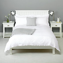 Buy John Lewis Lucie Floral Frill Duvet Cover and Pillowcase Set Online at johnlewis.com