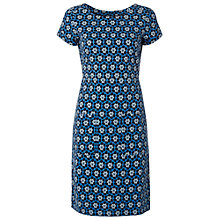 Buy White Stuff Paint Pallet Dress, Dark Blue Velvet Online at johnlewis.com