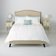 Buy John Lewis Helene Floral Embroidered Duvet Cover and Pillowcase Set Online at johnlewis.com