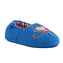 Buy John Lewis Pirate Monkey Slippers Online at johnlewis.com