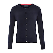 Buy Viyella Petite Merino Wool Bobble Cardigan Online at johnlewis.com