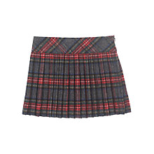 Buy Jigsaw Junior Girls' Pleat Kilt Skirt, Multi Online at johnlewis.com