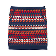 Buy Jigsaw Junior Girls' Knit Patterned Skirt, Multi Online at johnlewis.com