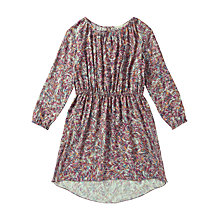 Buy Jigsaw Junior Girls' Brushstroke Print Dress, Multi Online at johnlewis.com