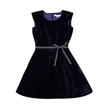 Buy Jigsaw Junior Girls' Velvet Dress Online at johnlewis.com