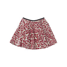 Buy Jigsaw Junior Girls' Sequin Skater Skirt, Pink Online at johnlewis.com