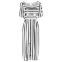 Buy Wishbone Una Stripe Dress, Cream / Blue Online at johnlewis.com