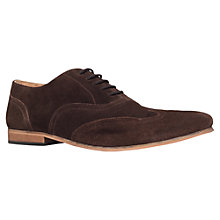 Buy KG by Kurt Geiger Samways Oxford Suede Shoes Online at johnlewis.com