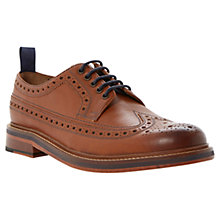 Buy Bertie Braxton Storm 3 Leather Brogue Shoes Online at johnlewis.com