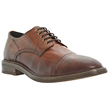 Buy Bertie Benson Leather Derby Shoes, Tan Online at johnlewis.com