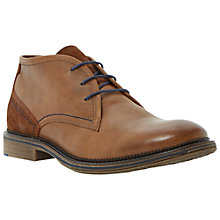 Buy Dune Carpenter Chukka Boots, Tan Online at johnlewis.com