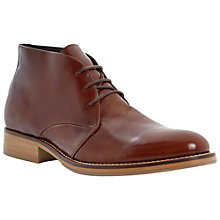 Buy Dune Crib Chukka Boots, Tan Online at johnlewis.com