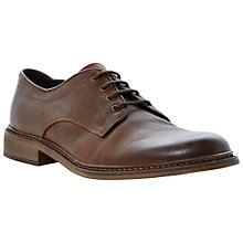 Buy Bertie Brash Leather Derby Shoes, Tan Online at johnlewis.com